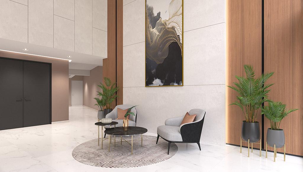 Lobby 2 - Proyecto Nerea