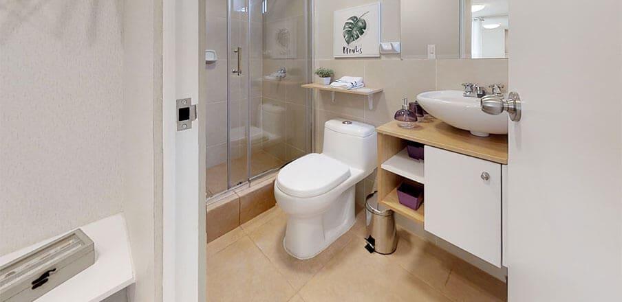 Baño 3 - Proyecto Verah