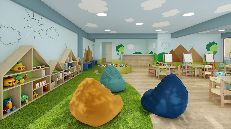Salón de Juegos para Niños -  Proyecto Verah