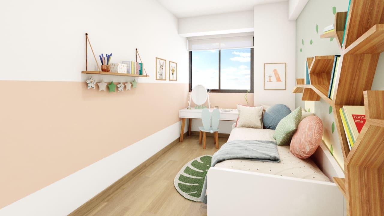 Dormitorio 2- Proyecto Villa Dulanto